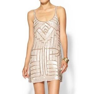 Parker Hayden Beaded Dress